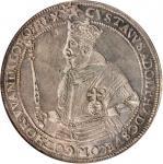 SWEDEN. Riksdaler, 1618. Stockholm Mint. Gustav II Adolf (1611-32). NGC EF-45.