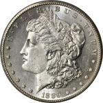 1889-CC Morgan Silver Dollar. Unc Details--Cleaned (PCGS).