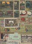 Album of Polish Notgeld, Collection including the towns of Bartoszycie, Bialogard, Bielzowice, Bieru