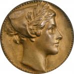 1917 Catskill Aqueduct Medal. By Daniel Chester French and Augustus Lukeman. Cast Bronze. Miller-35,