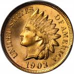 1903 Indian Cent. MS-67 RD (PCGS).