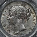 GREAT BRITAIN Victoria ヴィクトリア(1837~1901) Crown 1845 PCGS-AU50 -EF