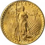1908 Saint-Gaudens Double Eagle. MS-64 (PCGS).