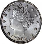 1906 Liberty Nickel. MS-66+ (PCGS). CAC.