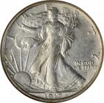 1917-S Walking Liberty Half Dollar. Obverse. MS-64 (NGC).