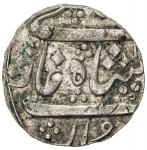 BARODA: Anand Rao, 1800-1819, AR rupee 4011。43g41, Jambusar, AH1xxx year 8, Cr-mdash, in the name of