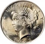 1923 Peace Silver Dollar. MS-67 (PCGS). CAC.