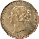 CANADA. Newfoundland. 50 Cents, 1872-H. Heaton Mint. Victoria. NGC MS-61.