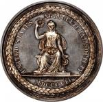 1860 United States Agricultural Society Award Medal. By Francis N. Mitchell. Julian AM-78, Harkness
