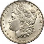 1896-O Morgan Silver Dollar. MS-64 (PCGS).