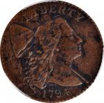 1794 Liberty Cap Cent. S-31. Rarity-1. Head of 1794. EF Details--Excessive Corrosion (PCGS).