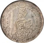 SWEDEN. 6 Mark, 1609. Stockholm Mint. Karl IX (1604-11). NGC AU-53.