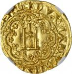 ITALY. Genoa. Genovino, ND. Simon Boccanegra (1339-44). NGC MS-66.