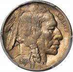 1918/7-D Buffalo Nickel. FS-101. VF-35 (PCGS).