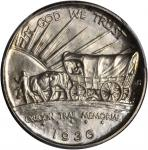 1936 Oregon Trail Memorial. MS-67 (PCGS).