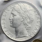 Repubblica Italiana, 100 lire 1960. Mont. 13. 27.8 mm.  优美
