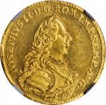 GERMANY. Nurnberg. Ducat, 1766-SR. NGC MS-63 PL.