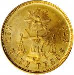 MEXICO. 10 Pesos, 1904-Mo M. Mexico City Mint. PCGS MS-64.