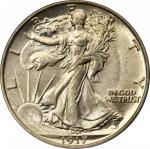 1917-D Walking Liberty Half Dollar. Reverse Mintmark. MS-65 (PCGS).