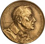 1945 Franklin D. Roosevelt Inaugural Medal. Dusterberg-11. Bronze. 44.6 mm. Choice Mint State.