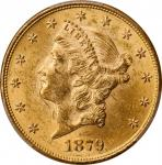 Lot of (4) 1879 Liberty Head Double Eagles. MS-61 (PCGS).