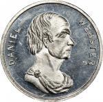 Circa 1859 Patriae Pater / Daniel Webster medal by Frederick C. Key. Musante GW-231, Baker-211B. Whi