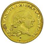 Italian coins;PARMA Ferdinando di Borbone (1765-1802) Doppia 1792 - MIR 1064/8 AU (g 7.00) - BB+;120