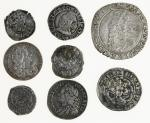 Miscellaneous, hammered and early milled coinage, Charles I (1625-1649), Shilling, Group E, type 4.1