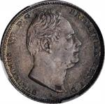 GREAT BRITAIN. 6 Pence, 1831. London Mint. William IV. NGC MS-63.