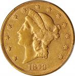 1878-S Liberty Head Double Eagle. EF-45 (PCGS).