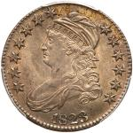 1823 Capped Bust Half Dollar. PCGS MS62
