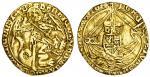 Henry VII (1485-1509), Angel, class IB, 4.95g, mm. rose/-, henric?di?gra?rex angl z franc dns i/b ,