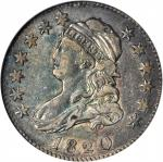 1820 Capped Bust Quarter. B-2. Rarity-2. Large 0. EF-45 (ANACS). OH.