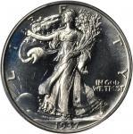 1937自由行走半美元 PCGS Proof 68