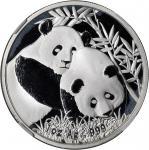 2012年熊猫纪念银币1盎司一组5枚 NGC PF 70