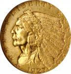 1927 Indian Quarter Eagle. MS-64 (NGC).