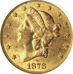 1878-S Liberty Head Double Eagle. MS-62 (PCGS). CAC.