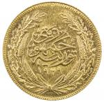 TURKEY: Republic, AV 100 kurush, Ankara, 1929, KM-842, choice AU, ex Ahmed Sultan Collection.