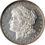 1878 Morgan Silver Dollar. 7/8 Tailfeathers. Strong. MS-64 DMPL (PCGS).