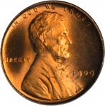1909 Lincoln Cent. V.D.B. MS-66 RD (PCGS). OGH.