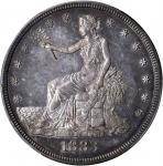 1883 Trade Dollar. Proof-64 (PCGS).