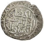 GOLDEN HORDE: Berke, 1257-1267, AR yarmaq (1.87g), Qrim (Crimea), ND (1264-67), A-2019G, citing his