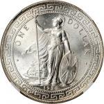 GREAT BRITAIN. Trade Dollar, 1930-B. NGC MS-65.