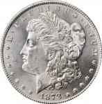 1878-S Morgan Silver Dollar. MS-66 (PCGS). CAC. OGH.