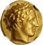 MACEDON. Kingdom of Macedon. Time of Philip II to Alexander III (the Great), 359-323 B.C. AV Stater