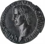 CALIGULA, A.D. 37-41. AE As (10.25 gms), Rome Mint, A.D. 40-41. NGC Ch EF, Strike: 4/5 Surface: 3/5.