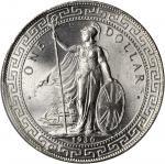 1930-B年英国贸易银元站洋一圆银币。