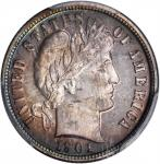 1901 Barber Dime. Proof-66 (PCGS).