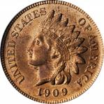 1909 Indian Cent. MS-64 RB (PCGS).