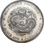 CHINA. Szechuan. 7 Mace 2 Candareens (Dollar), ND (1901-08). PCGS Genuine--Filed Rims, EF Details Se